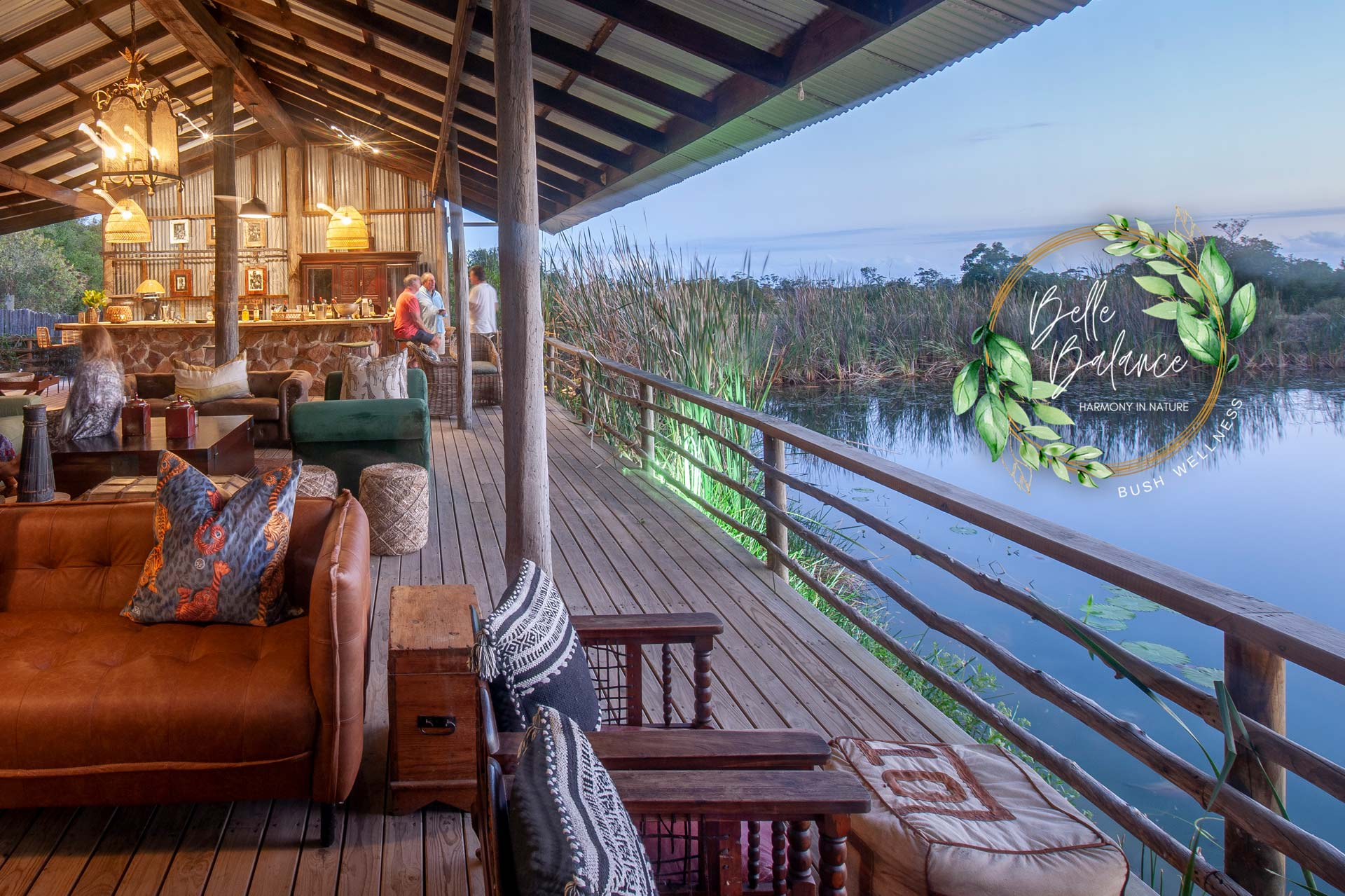 Belle Balance Plettenberg Bay is a one of a kind hide out in the bush